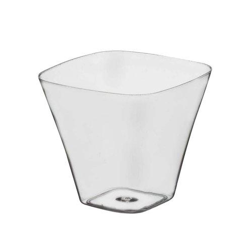 **Mini Curved Square 3.5oz Cups 40ct