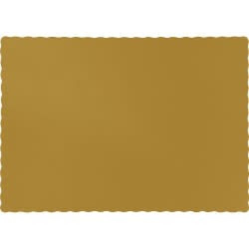 *Glittering Gold Placemats 50ct