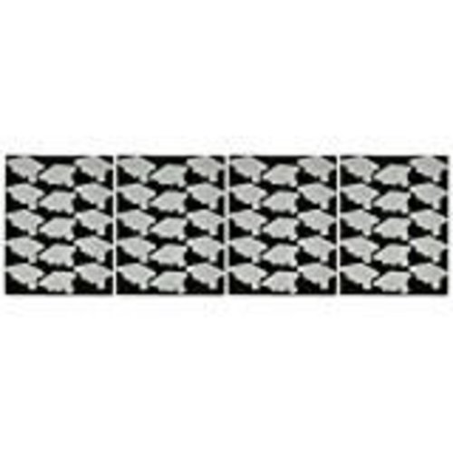 Silver Graduation Stickers 4 sheets