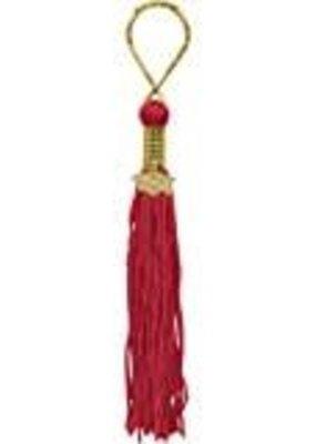 ***Red Grad Tassel Key Chain