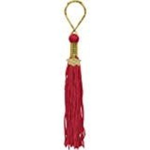Red Grad Tassel Key Chain