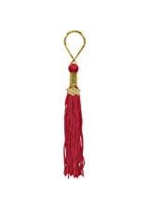 ****Red Grad Tassel Key Chain