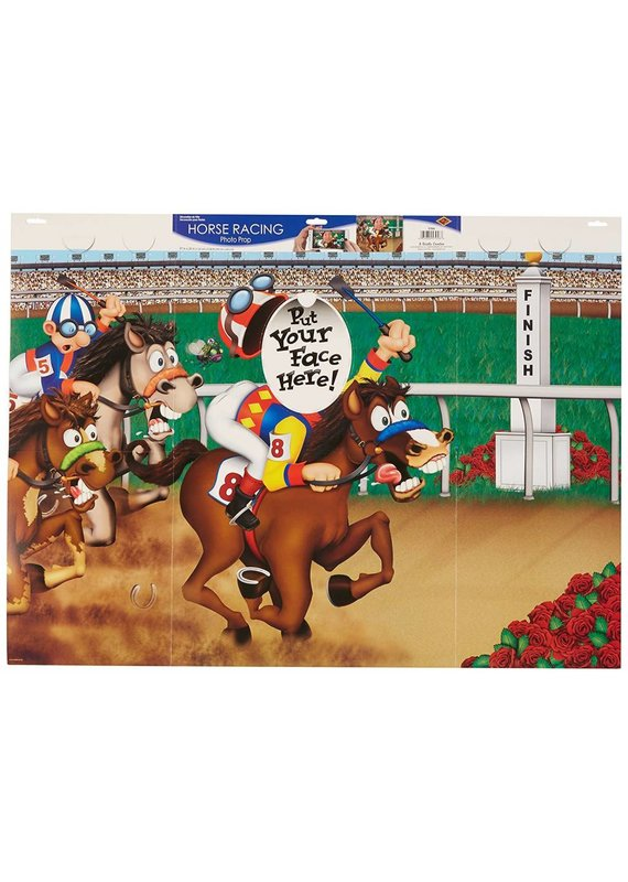 ***Horse Racing Photo Prop