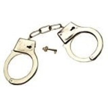 ***Metal Handcuffs with Key