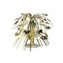 *Gold Grad Cap Mini Cascade Centerpiece
