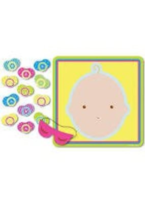 ***Pin the Pacifier Baby Shower Game