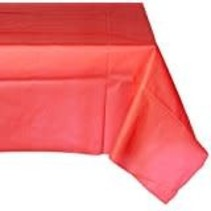 ***Classic Red 54x108 Plastic Tablecover
