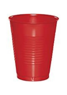 ***Classic Red 16oz Plastic Cups 20ct