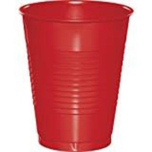 *Classic Red 16oz Plastic Cups 20ct
