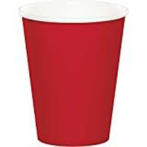 *Classic Red 9oz Hot/Cold Cup 24ct