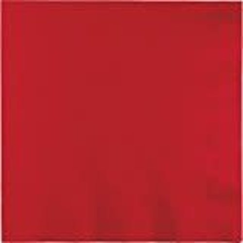Classic Red 3ply Luncheon Napkins 50ct