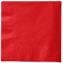 ***Classic Red Beverage Napkins 50ct
