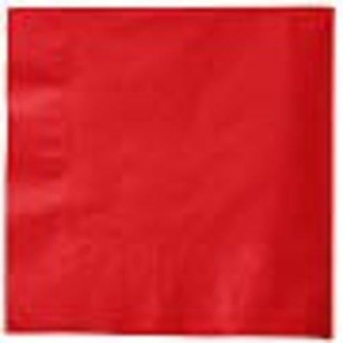*Classic Red Beverage Napkins 50ct