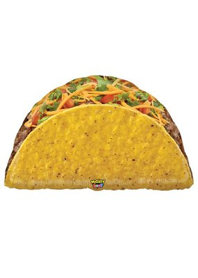 "***Mighty Taco 32"" Jumbo Mylar"