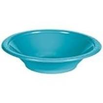 ***Bermuda Blue 12oz Plastic Bowls 20ct