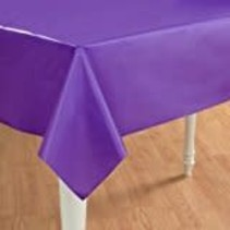 *Purple 54x108 Rectangle Tablecover