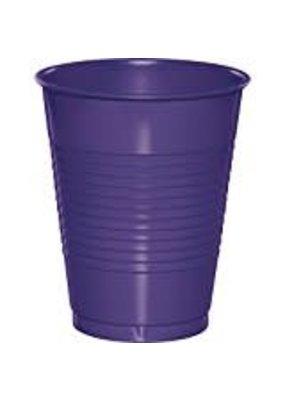 ***Purple 16oz Plastic Cups 20ct