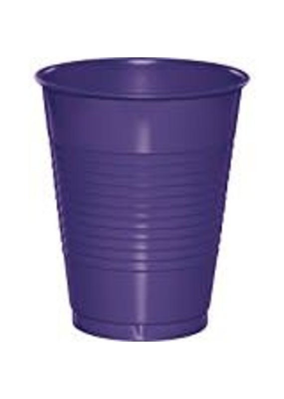 ****Purple 16oz Plastic Cups 20ct