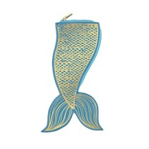 *Mermaid Tail Hideaway Pouch