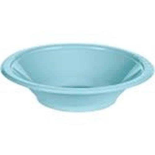 Pastel Blue 12oz Plastic Bowl 20ct