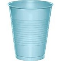 Pastel Blue 16oz Plastic Cups 20ct