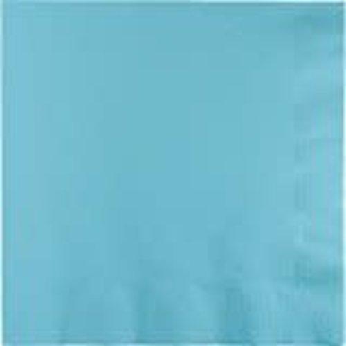 Pastel Blue 3ply Beverage Napkins 50ct
