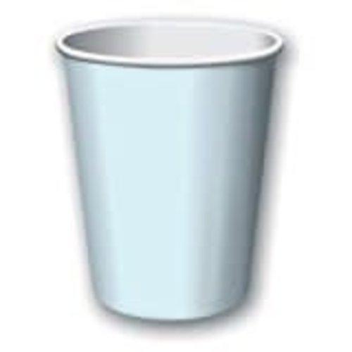 Pastel Blue 9oz Hot Cold Cups 24ct