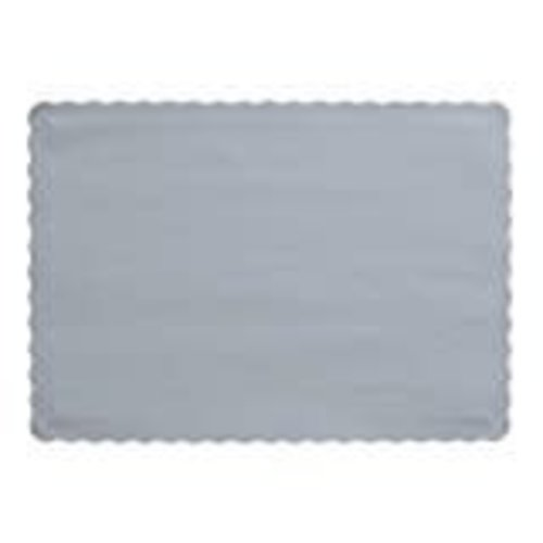 *Shimmering Silver Placemats 50ct