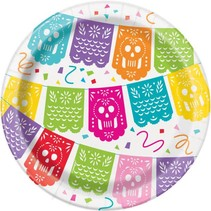 Mexican Fiesta 7in Paper Plate