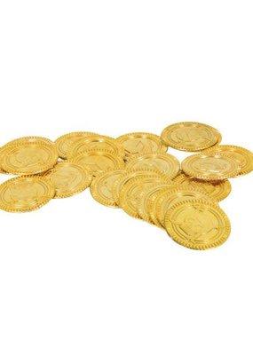 ***Gold Plastic Coins 30ct