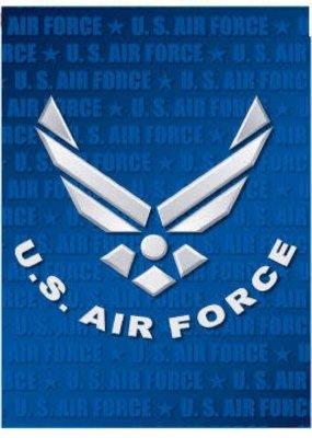 ***Air Force Garden Flag