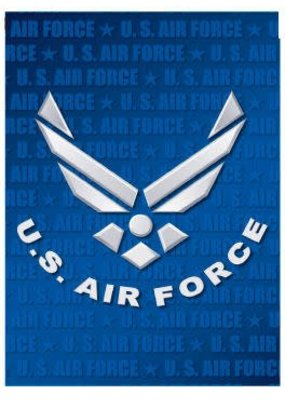 ****Air Force Garden Flag