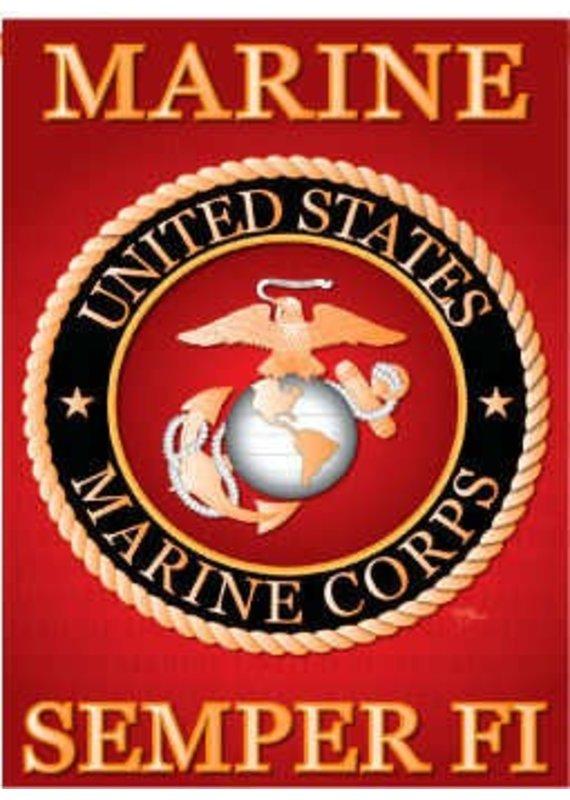 *****United States Marine Corps Garden Flag
