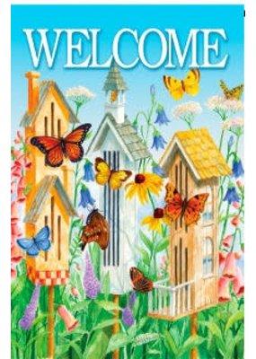 ***Butterfly Houses Garden Flag