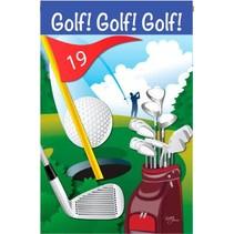 *Golf, Golf, Golf Garden Flag