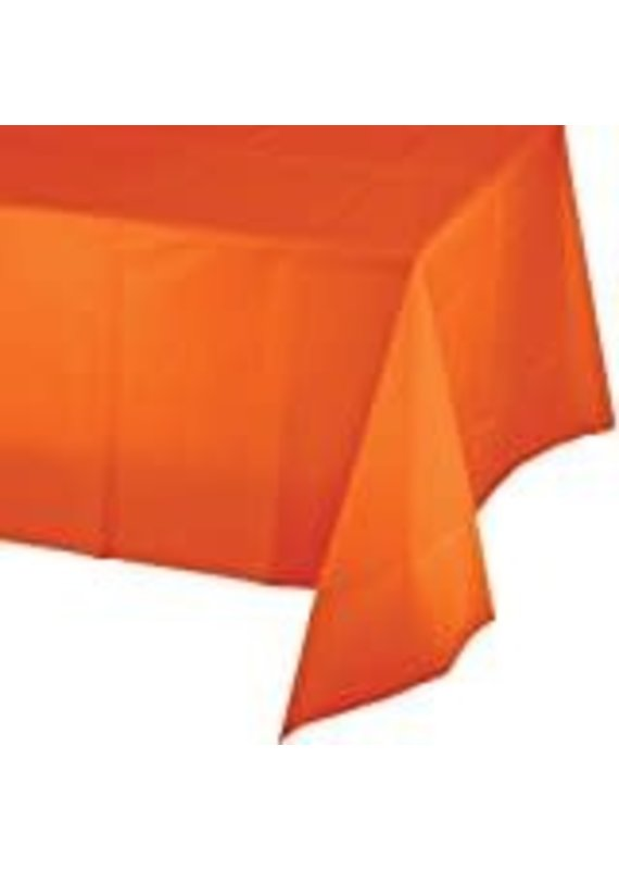 ****Sunkissed Orange 54x108 Rectangle Tablecover