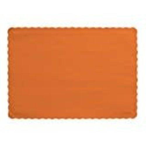 *Sunkissed Orange Placemats 50ct