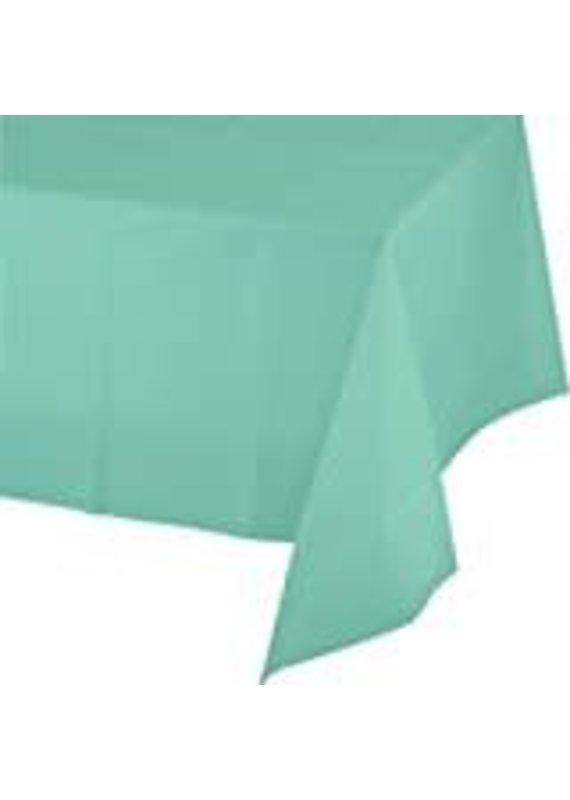 ****Fresh Mint 54x108 Rectangle Plastic Tablecover