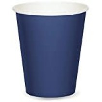 ***Navy Blue 9oz Hot/Cold Cup 24ct