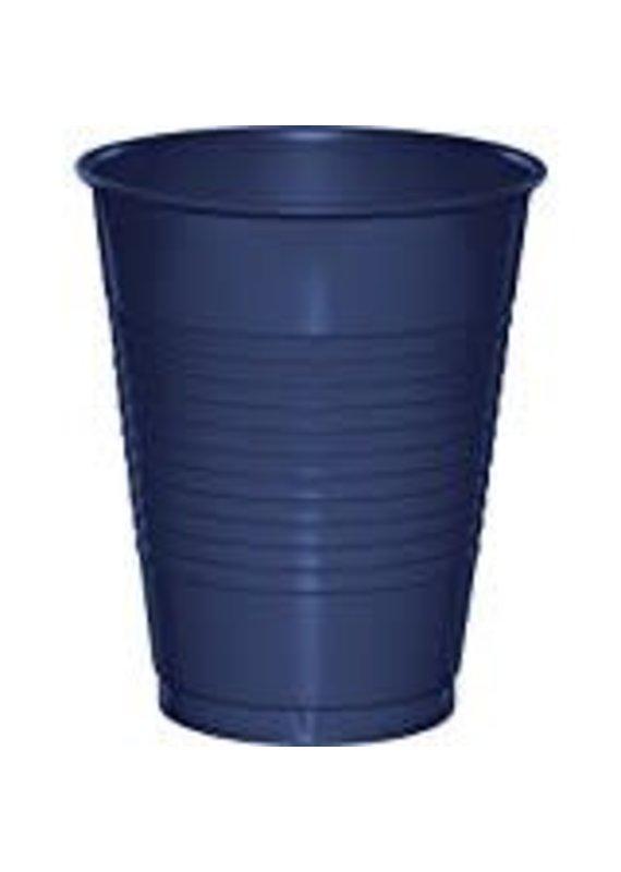 ****Navy Blue 16oz Plastic Cup 20ct