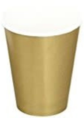 ***Glittering Gold 9oz Hot/Cold Cup 24ct