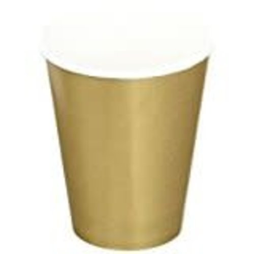 Glittering Gold 9oz Hot/Cold Cup 24ct