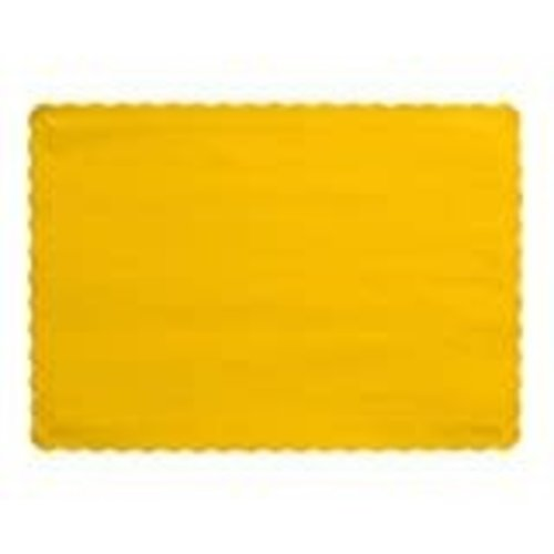 *School Bus Yellow Placemats 50ct