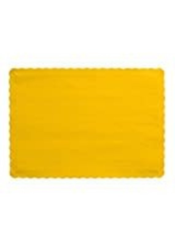 ****School Bus Yellow Placemats 50ct