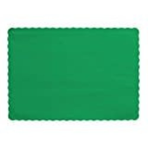 *Emerald Green Placemats 50ct