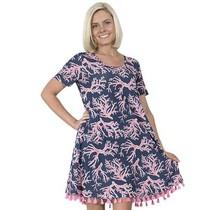 ***Naples Short Sleeve Dress