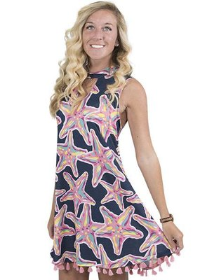 Savanah Keyhole Dress