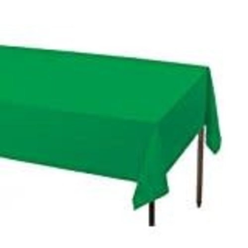*Emerald Green 54x108 Rectangle Tablecover