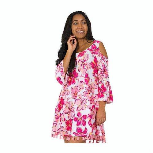 Sarasota Cold Shoulder Dress