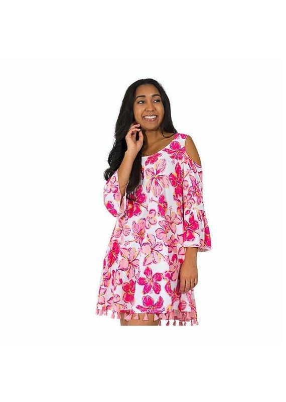 ***Sarasota Cold Shoulder Dress